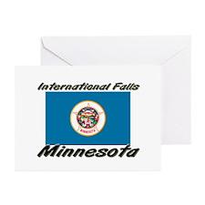 International Falls Minnesota Greeting Cards (Pk o