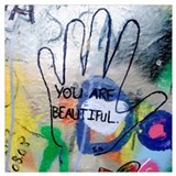 You are beautiful Wrapped Canvas Art