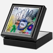 You Are Beautiful Graffiti Keepsake Box