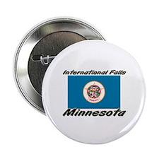 International Falls Minnesota Button