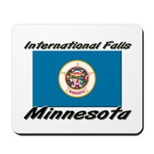 International Falls Minnesota Mousepad