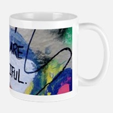 You Are Beautiful Graffiti Mugs
