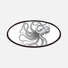 Large nautical steampunk vintage kraken octo Patch