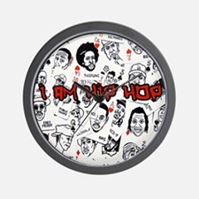 hiphopcards Wall Clock