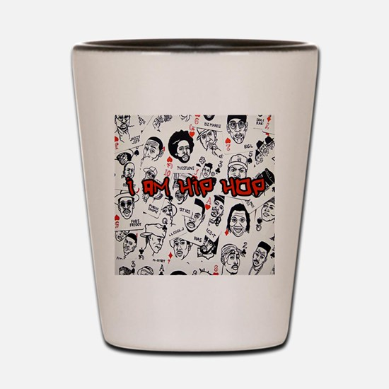 hiphopcards Shot Glass