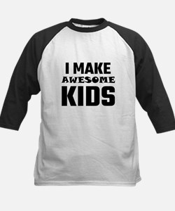 I Make Awesome Kids Baseball Jersey