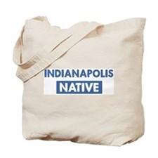 INDIANAPOLIS native Tote Bag