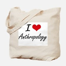 I Love Anthropology artistic design Tote Bag