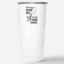 I Love My Grand Kids To Stainless Steel Travel Mug