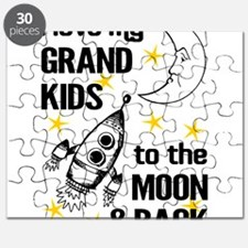 I Love My Grand Kids To The Moon And Back Puzzle