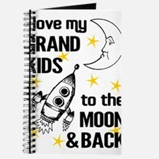 I Love My Grand Kids To The Moon And Back Journal