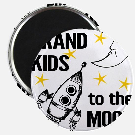 I Love My Grand Kids To The Moon And Back Magnets