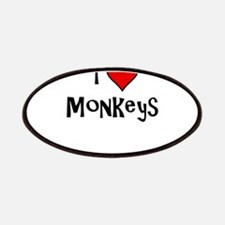 I Love Monkeys Patch