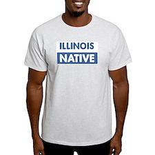 ILLINOIS native T-Shirt