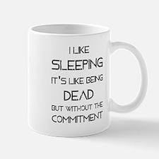 I Like Sleeping Mugs