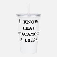 I Know That Guacamole Acrylic Double-wall Tumbler