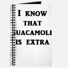 I Know That Guacamole Is Extra Journal