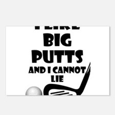 I Like Big Putts And I Ca Postcards (Package of 8)