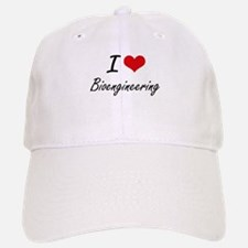 I Love Bioengineering artistic design Baseball Baseball Cap