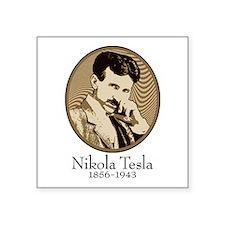 "Nikola Square Sticker 3"" x 3"""
