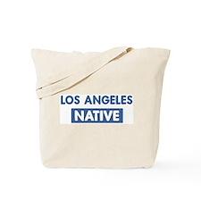 LOS ANGELES native Tote Bag