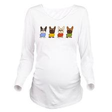 Cute Pet Long Sleeve Maternity T-Shirt