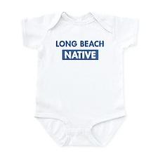 LONG BEACH native Infant Bodysuit
