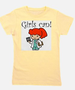 Cute Girls in medicine Girl's Tee