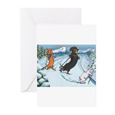 Funny Colorado christmas Greeting Cards (Pk of 10)