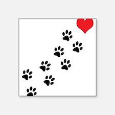 """Cute Pets Square Sticker 3"""" x 3"""""""