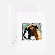 Boxer Dog Greeting Cards