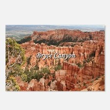 Unique Bryce canyon Postcards (Package of 8)