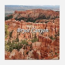 Unique Bryce canyon national park Tile Coaster