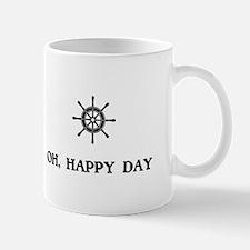 oh Happy Day Sailing Wheel Mugs