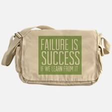 Failure is Success Messenger Bag
