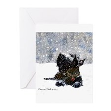 Cute Scottie dog Greeting Cards (Pk of 20)