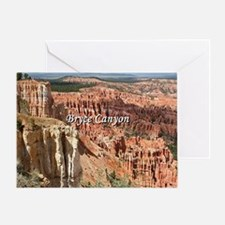 Cute Bryce canyon national park Greeting Card