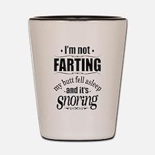 Fart Snoring Shot Glass