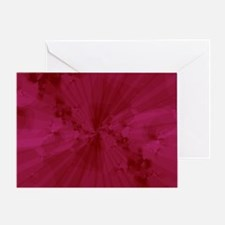 Shattered in Magenta Greeting Card