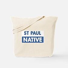 ST PAUL native Tote Bag