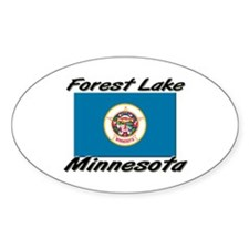 Forest Lake Minnesota Oval Decal