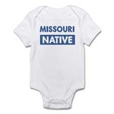 MISSOURI native Infant Bodysuit