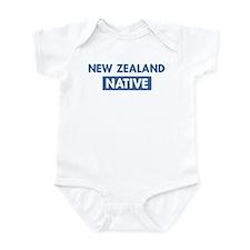 NEW ZEALAND native Infant Bodysuit