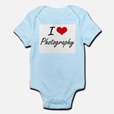 I Love Photography artistic design Body Suit