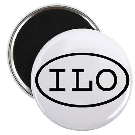ILO Oval Magnet