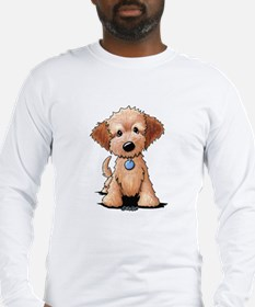 KiniArt Goldendoodle Puppy Long Sleeve T-Shirt