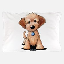 KiniArt Goldendoodle Puppy Pillow Case