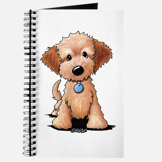 KiniArt Goldendoodle Puppy Journal