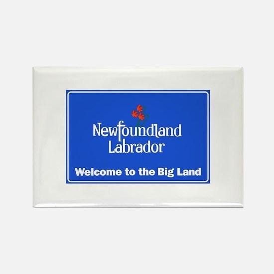 Welcome to Newfoundland & Labrado Rectangle Magnet