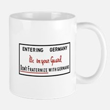 Be On Your Guard, Germany WWII Mug